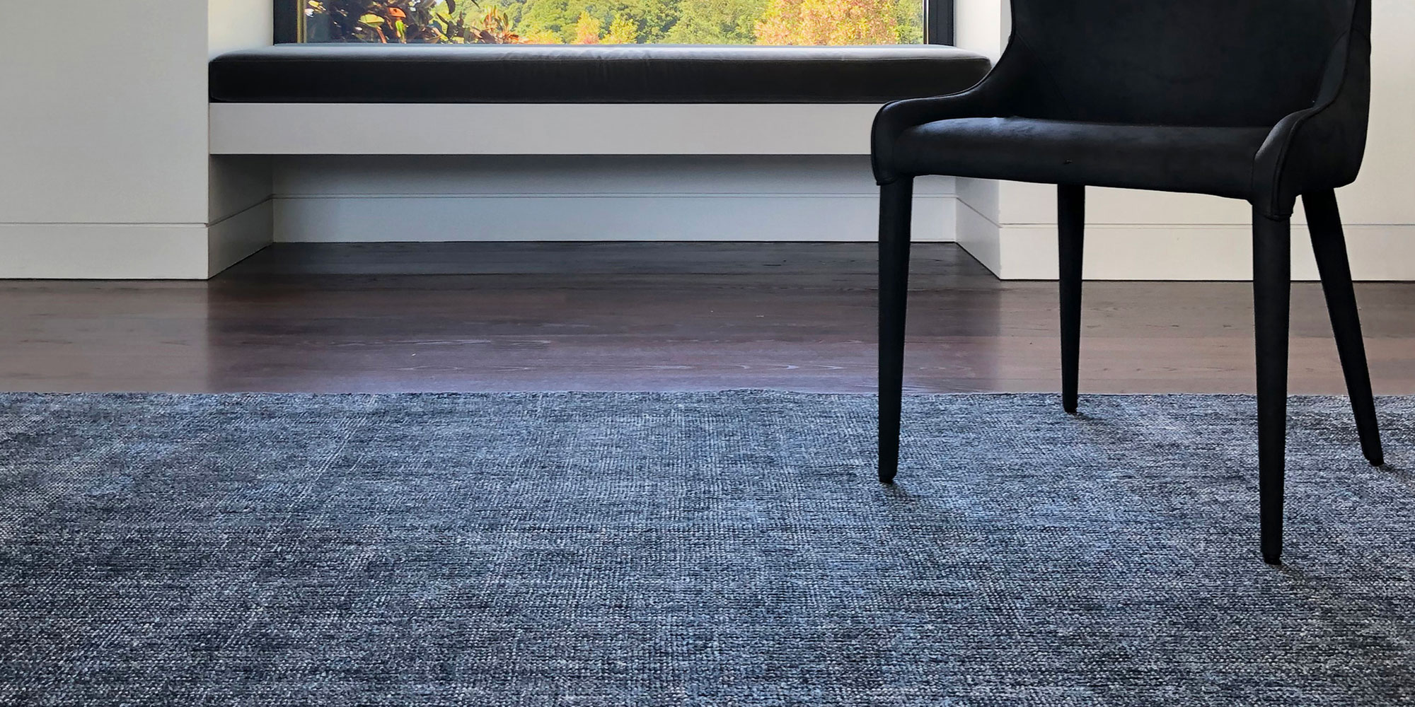 Minimalist Style - How to place Rugs