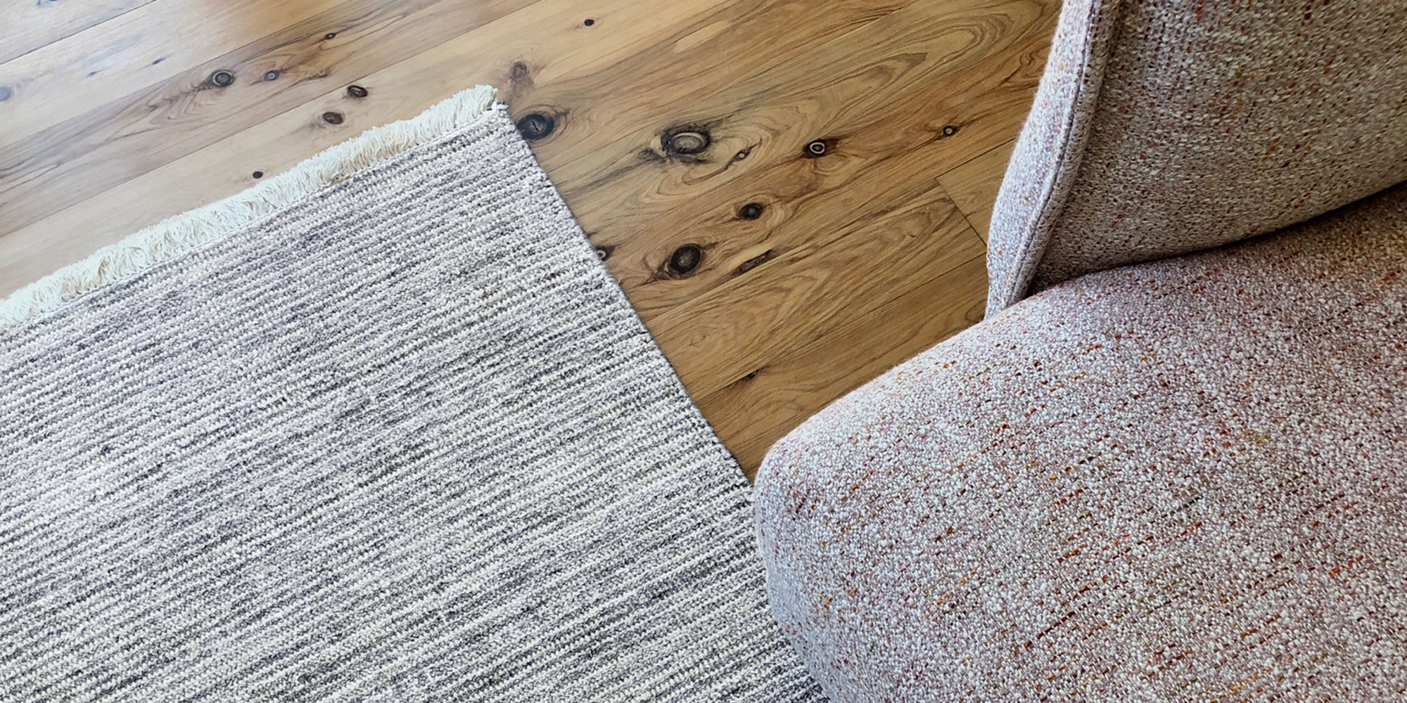 Tips for Placing Rugs on Hardwood Floors
