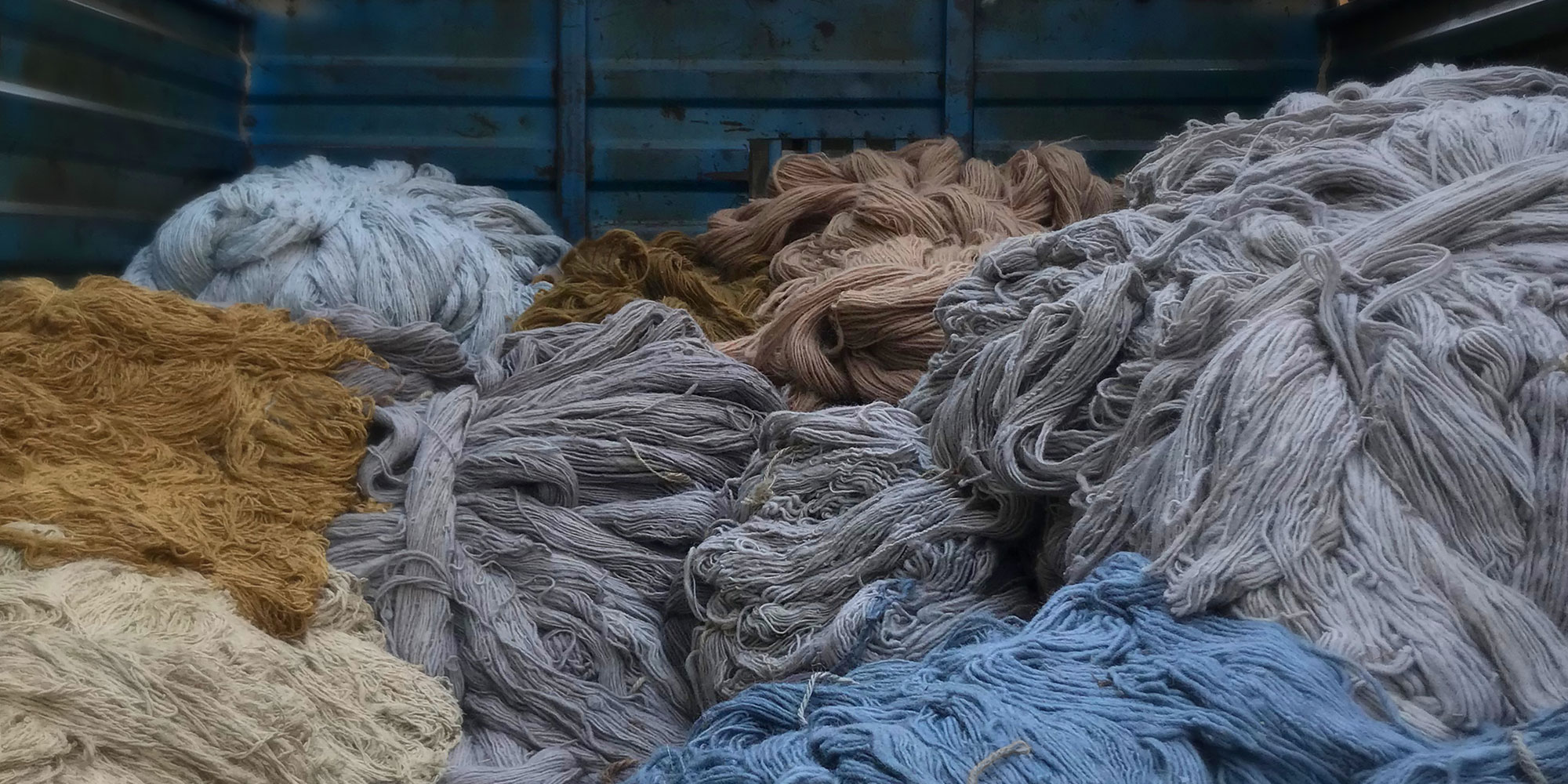 What fibre should I use in my rug?