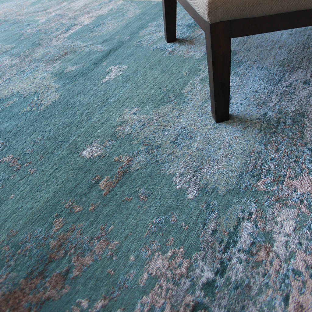 Claremont Teal Stock Rug