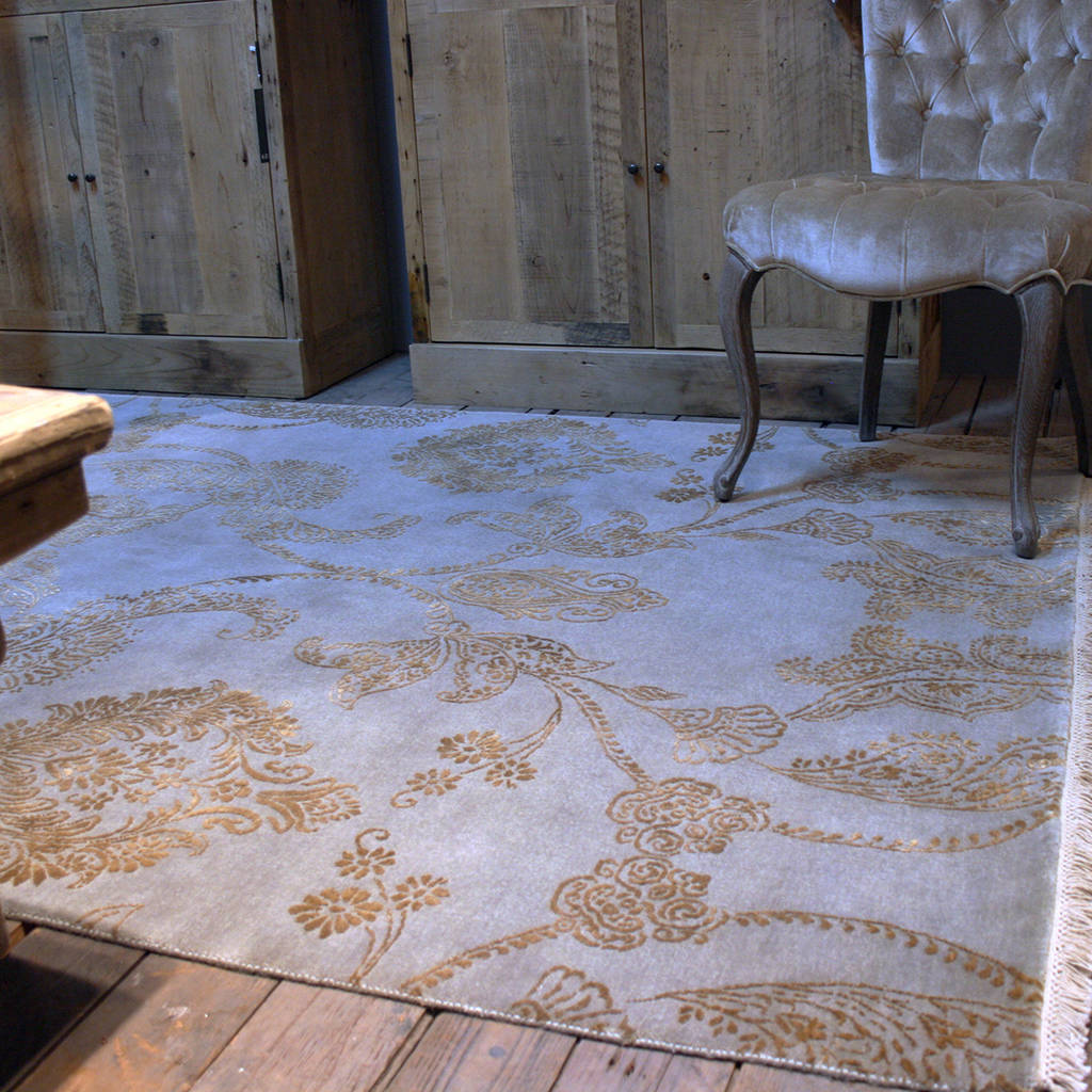 Say Hello To Damask Patterns And Rugs - Blog Post