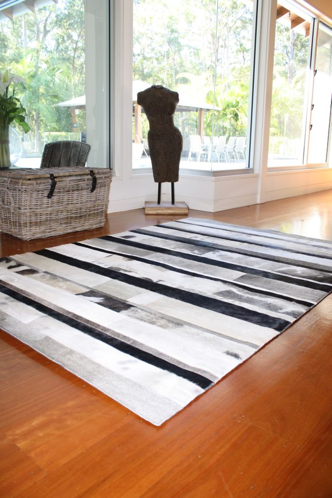 These Cowhide Rugs Are Very Adaptable Look Stunning However Not Suited To Frequent Rubbing Like Sled Dining Chairs